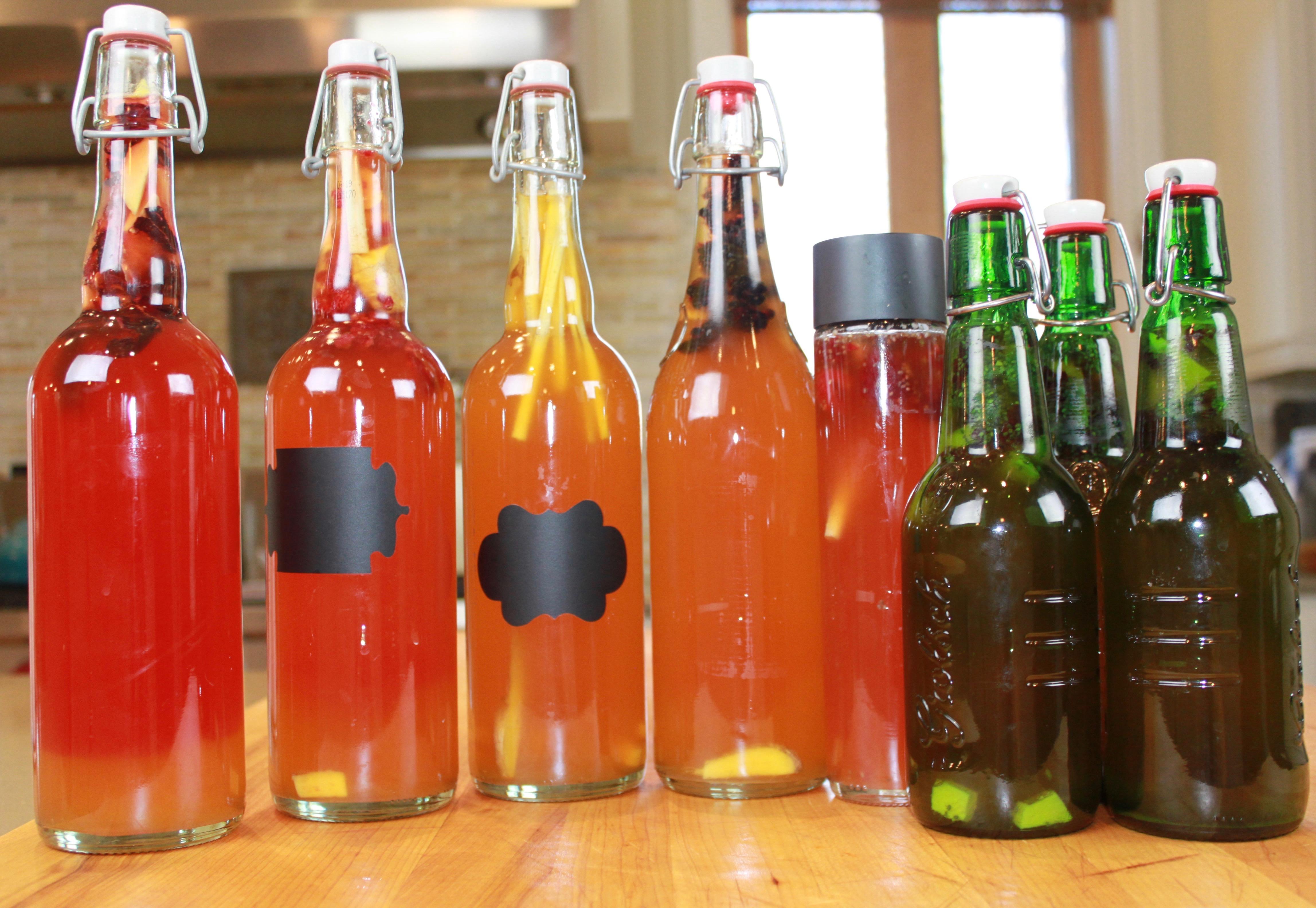2nd fermentation kombucha