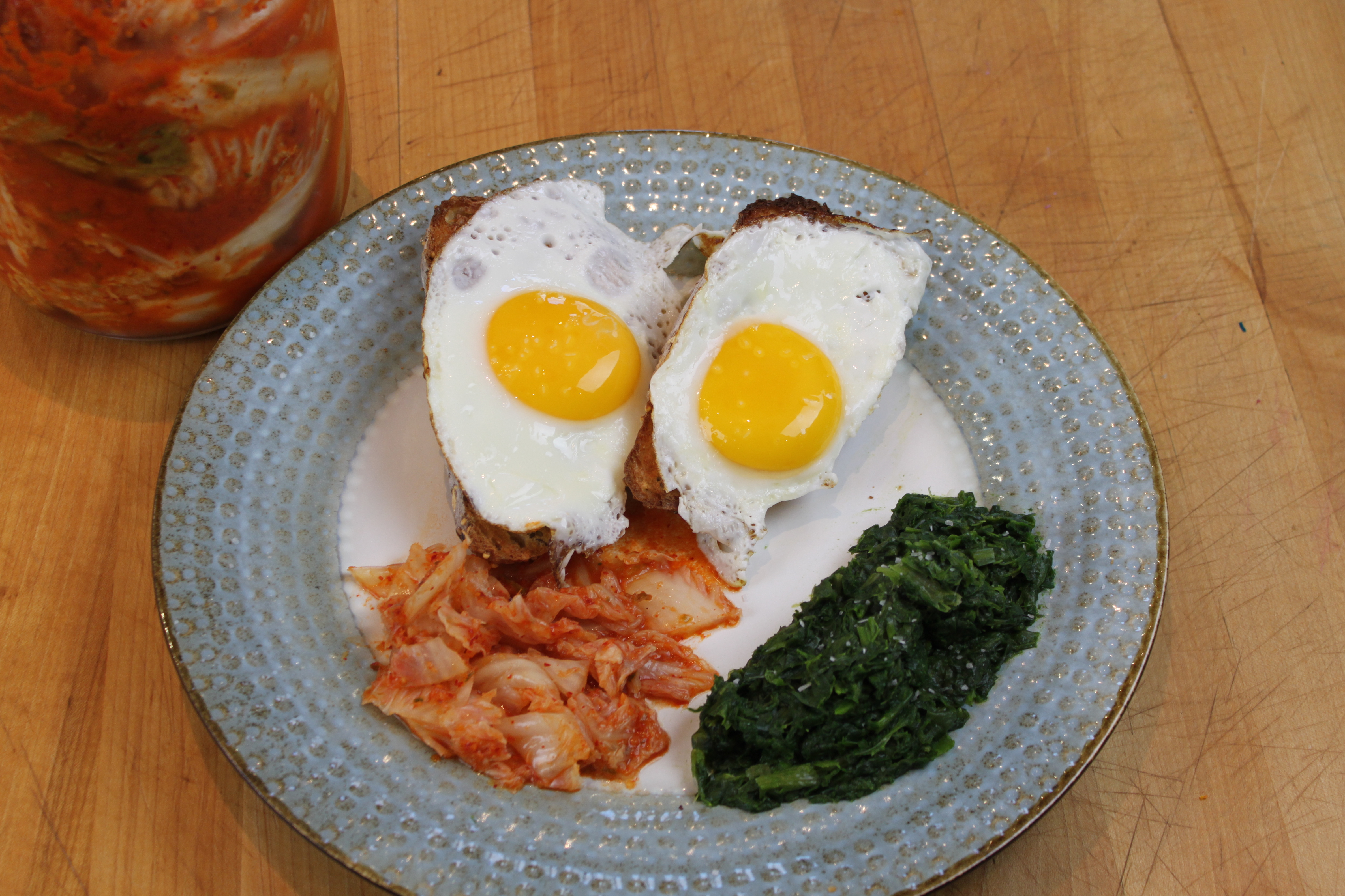 kimchi-and-eggs - The Cultured Foodie