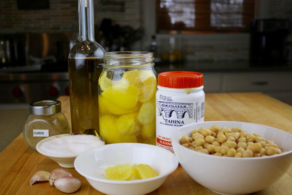 Probiotic Hummus Ingredients