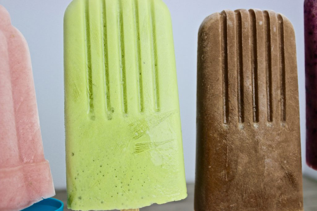 Milk Kefir Popsicles