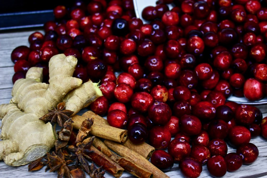 Honey fermented spiced cranberries the cultured foodie for Spiced cranberry sauce with orange and star anise